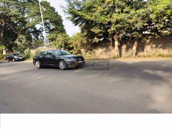 2019 Audi A6 spyshots front