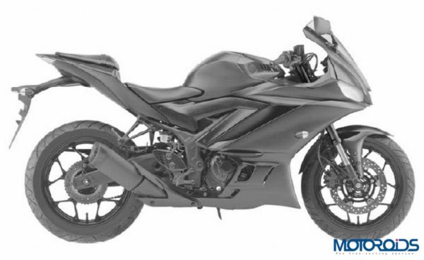 2019 Yamaha R3 Leaked Images Side
