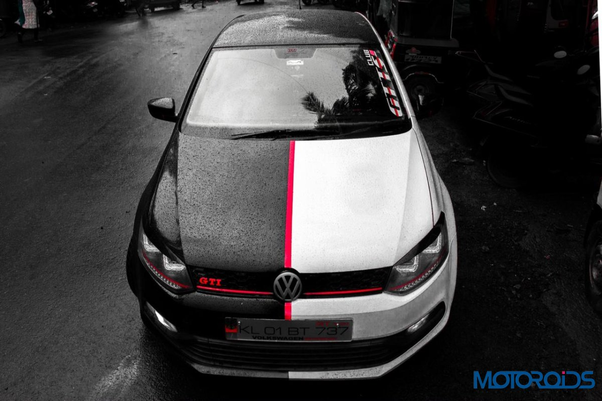 Is It Black Is It White Meet The Two Faced Arkham Knight Jamshir S Modified Polo Gt Tsi Motoroids