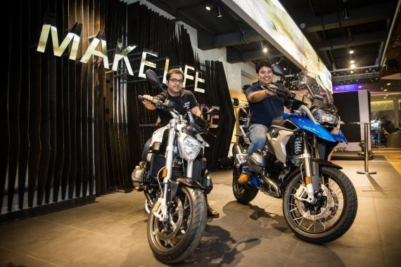 Bengal Motorrad Inside showroom