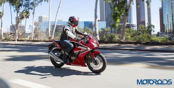 Honda CBR 300R Three Quarter