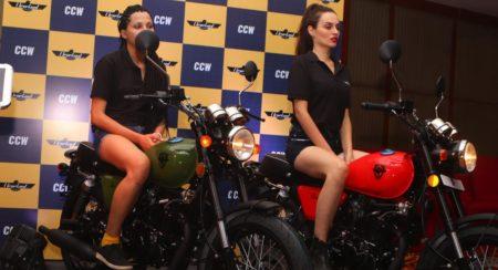 CCW bikes at the Vashi inauguration