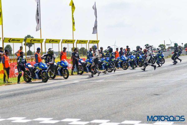 Suzuki Gixxr Endurance Race