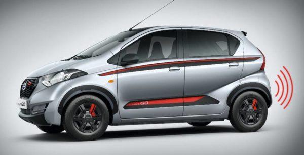 Datsun redi GO limited edition interior side