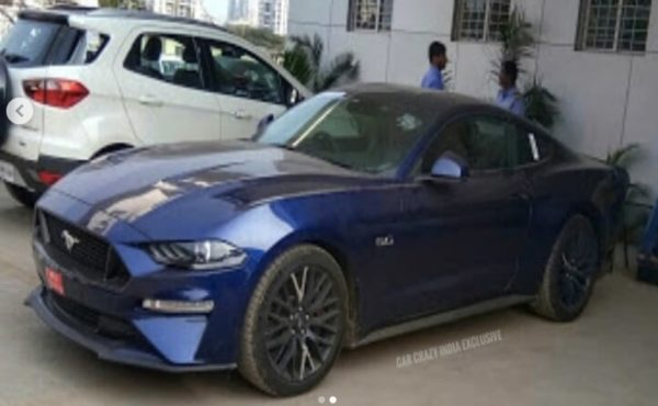 Ford Mustang facelift front quarter