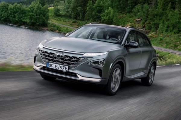 Hyundai NEXO wins award