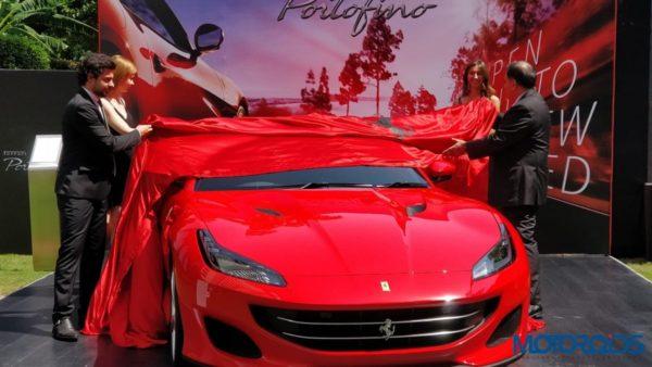 Ferrari Portofino Delhi Launch