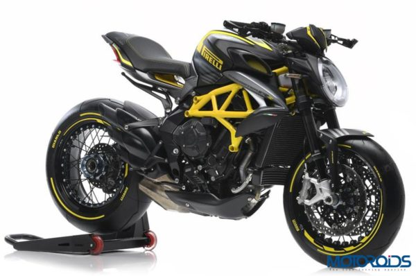 MV Agusta Dragster 800 RR Pirelli Black and Yellow
