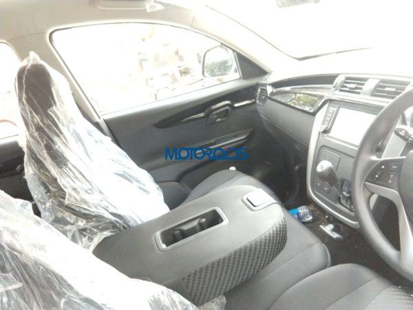 Mahindra KUV 100 Nxt AMT interior