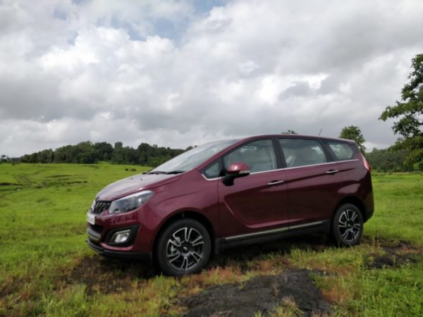 Mahindra Marazzo Launch exterior side