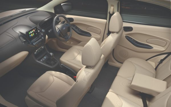New Ford Aspire Interiors (1)