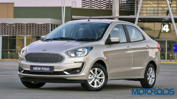 Face-lifted Ford Figo Aspire