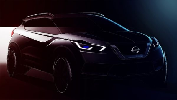 Nissan KICKS design front dark
