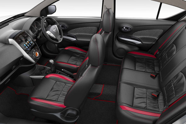 Nissan Sunny Special Edition interiors
