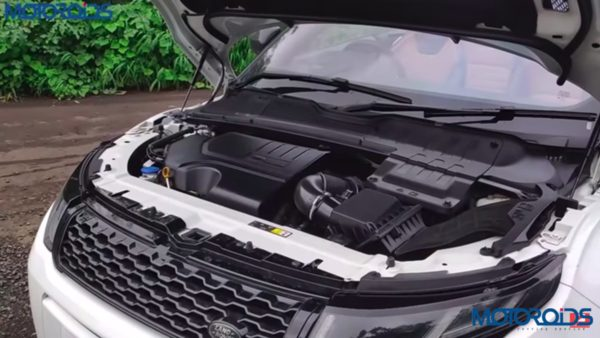 Range Rover Evoque Convertible review engine