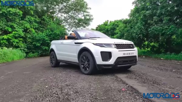 Range Rover Evoque Convertible review potriat