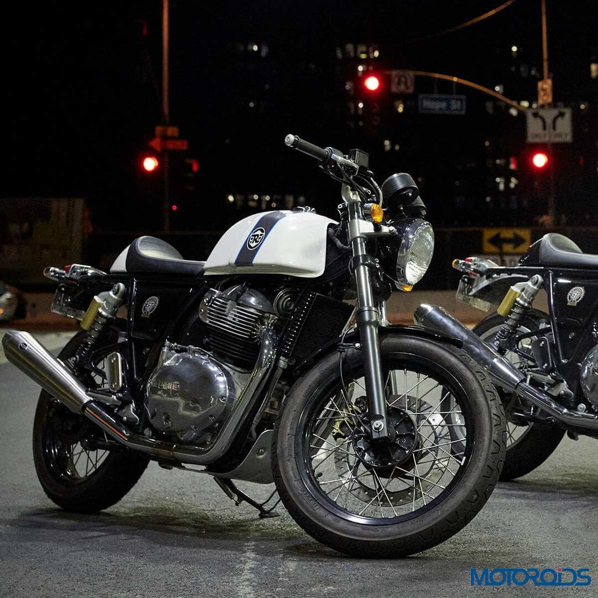 Royal Enfield Continental GT 650 three quarter