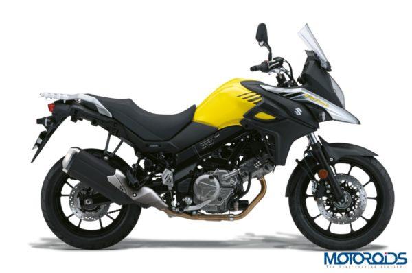 Upcoming Bikes: Suzuki V-Strom Black & Yellow