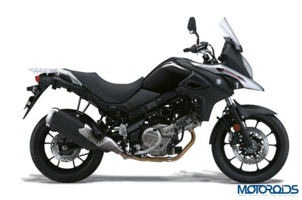 Suzuki V-Strom Black & White