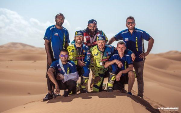 TVS rally team