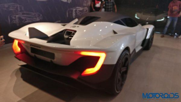 Vazirani Shul concept rear rear quarter