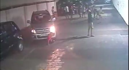 WagonR runs over kid impact
