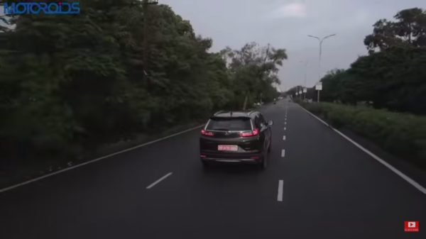 honda crv review rear rolling