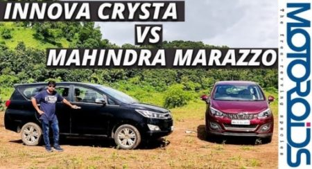 Comparison Video: Mahindra Marazzo V/S Toyota Innova Crysta