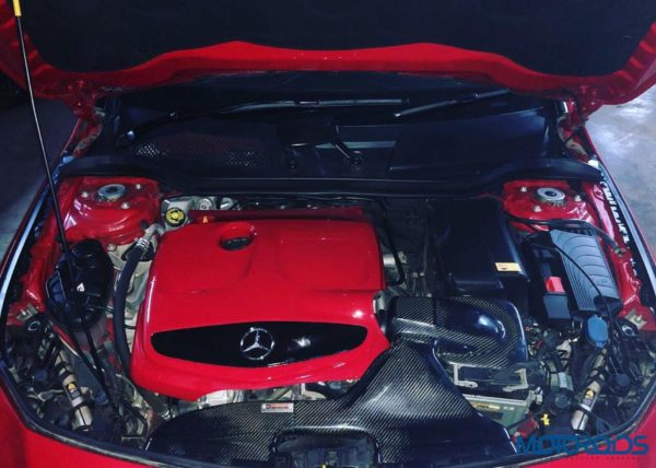 modified CLA 200 engine
