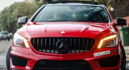 modified CLA 200 front