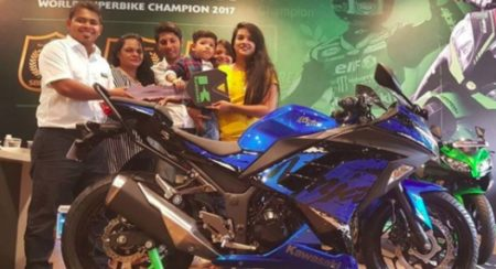 This Young Lady Racer Is Mumbai's First Ninja 300 ABS Owner