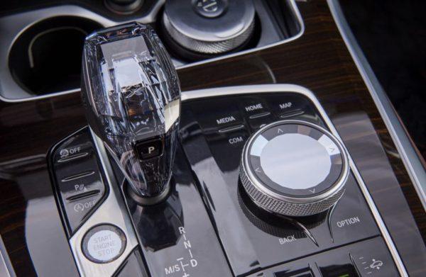 new BMW X5 iDrive controller
