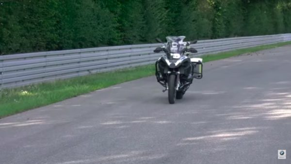 riderless BMW bike featured