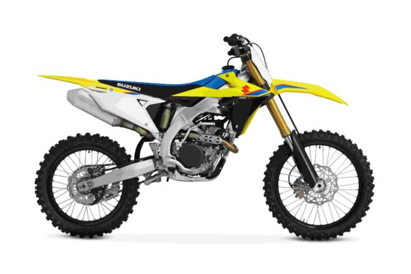 suzuki RM Z250 dirt bike side