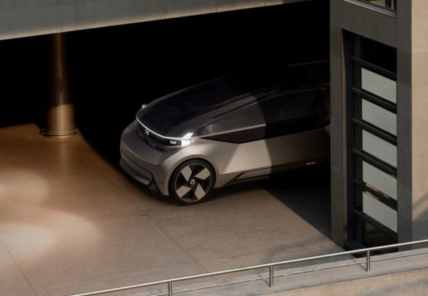 volvo 360c concept garage entrance