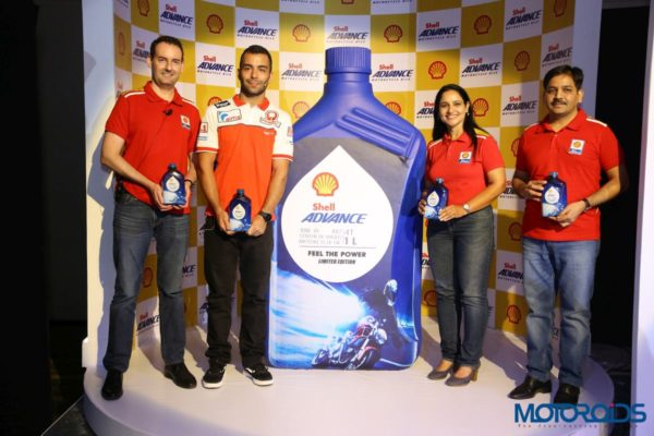 Shell Advance AX7 10W-30 Launch: Danilo Petrucci