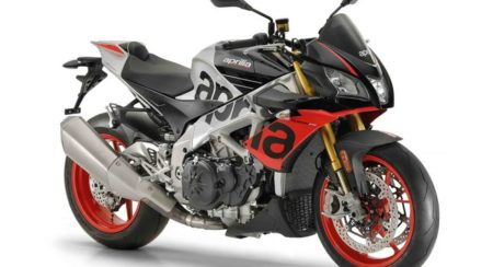 Aprilia Tuono V4 1100 Factory Front Three Quarter 2019
