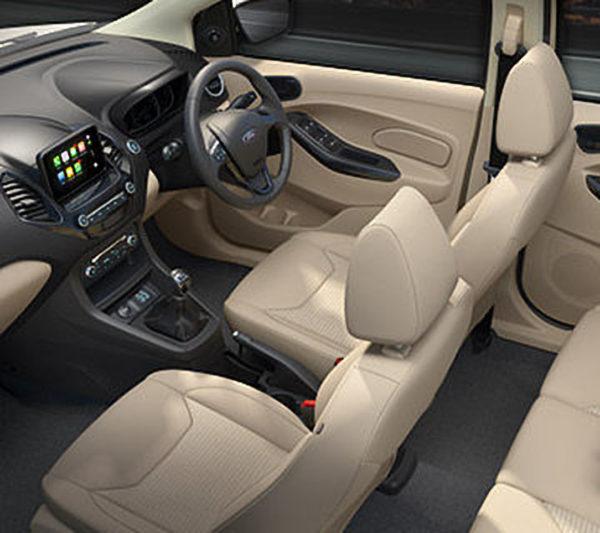2018 Ford Aspire Interiors
