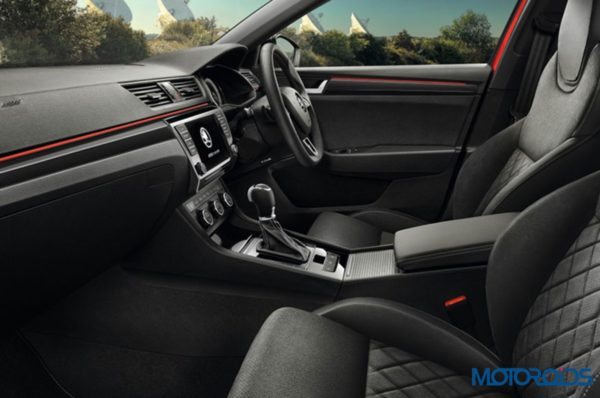 Skoda Superb Sportline Interior Seats