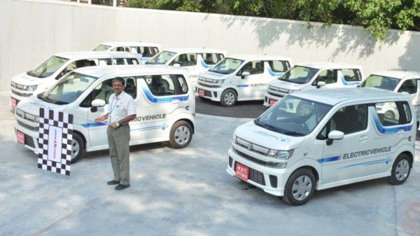 Maruti Suzuki Flags Off Electric Vehicle Testing 2