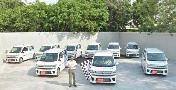Maruti Suzuki Flags Off Electric Vehicle Testing