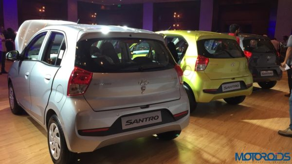 All new Santro Launch 3