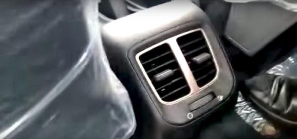 All new Santro rear AC vent