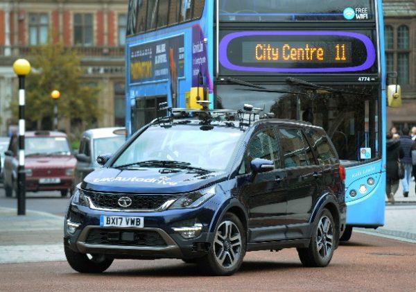 Autonomous Hexa rolling exterior