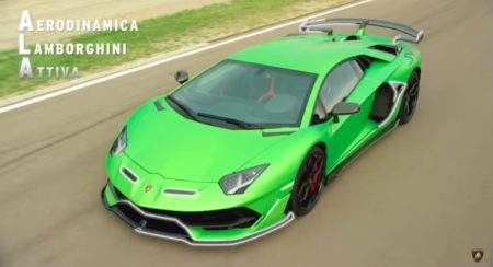 Lamborghini's New Aerodynamic System Makes the Aventador SVJ Super Fast Around a Circuit