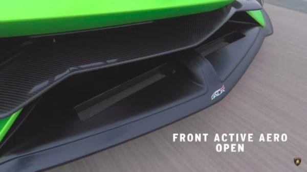 Aventador ALA front flap