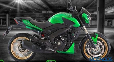 Bajaj Launches Limited Edition Green Colour Option in Russia