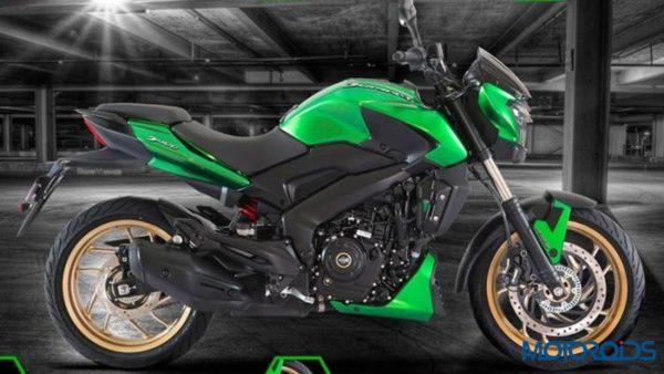 Bajaj Dominar 400 Green Limited Edition Russia (1)