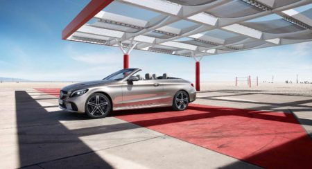C class Cabriolet side