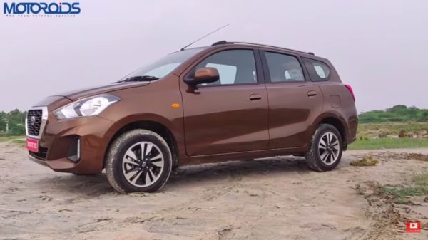 Datsun Go+ review side